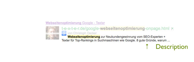 Meta-Description: Click through Rate optimieren