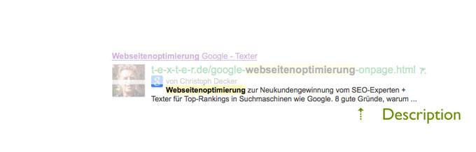 Meta-Description: Click through Rate optimieren