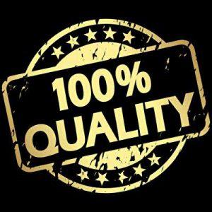 100 % Qualitäts Texte Siegel